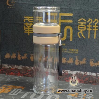 Бутылка для заваривания чая № 3,  290 мл
